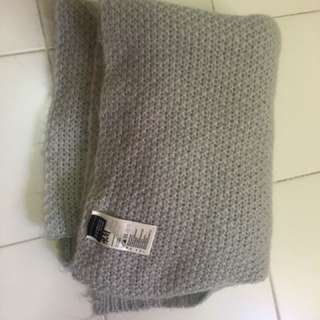 H&M grey thick scarf