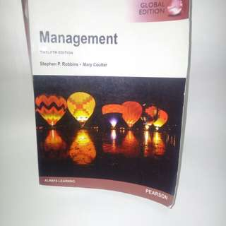 Management Ed 12 Robbins Bahasa Inggris
