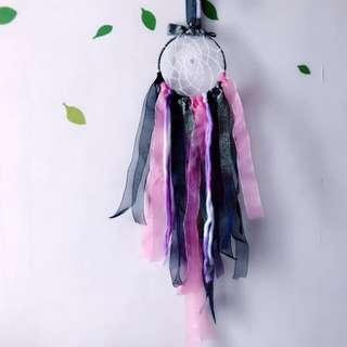 Handmade with love-Bears dreamcatcher: Maiden of Darkness