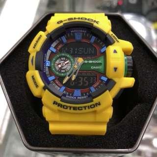 Casio G-Shock GA-400-9A GA400-9A ga-400-9a GA-400 Yellow gshock