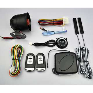 Push Start, Auto Lock / Unlock, Car Alarm System