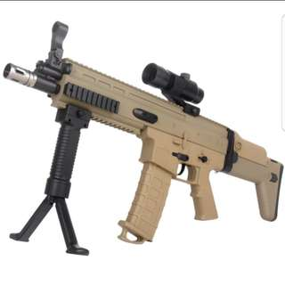 FN SCAR fore grip wbb nerf