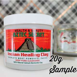 [Instock] Aztec Indian Healing Clay Mask 20g Sample