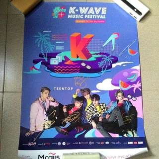 [NEW] Teentop Signed Poster #15Off