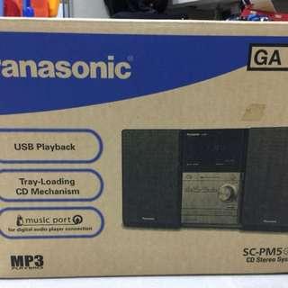 Panasonic PM-5 Micro HiFi System
