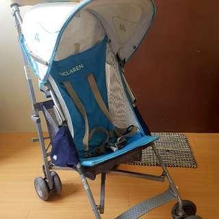 Maclaren stroller (original. good for travel)