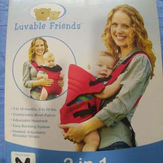 Luvable friend Baby Carrier