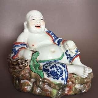 Vintage Laughing Buddha