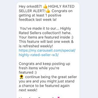 HIGHLY RATED SELLER HERE!!!!