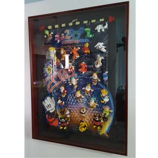 Mcdonald's 2000 WALT DISNEY WORLD Complete Collection Set with Frame