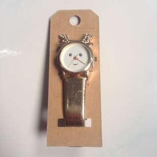 Lovisa Deer Gold Strap Watch
