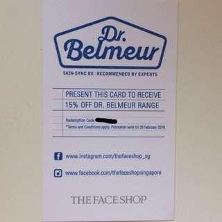 Dr. Belmeur Discount Card/Code