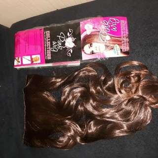 Hairclip brown pirang