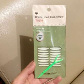 The face shop eyelid tape