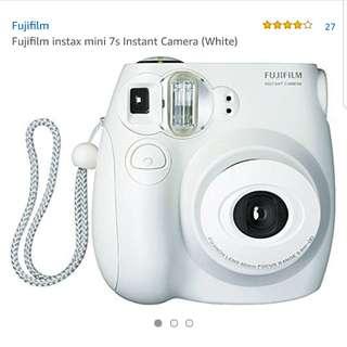 Fujifilm Instax Mini 7S - White
