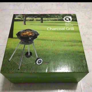 CNY FEB 2018: BN Charcoal Grill BBQ Rack Stand With Cover