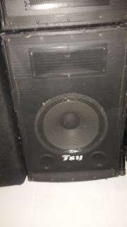 SELLING CHEAP Preloved FSY Outdoor Speaker! Price 1pair