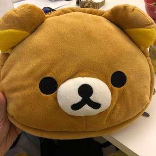 鬆弛熊手袋