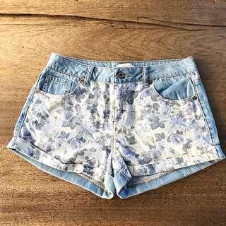 Forever 21 Highwaisted Floral Shorts