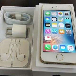 Rush iPhone 5s 16gb, 32gb, 64gb Gold/Spacegrey/Silver Factory Unlock Openline
