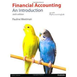Financial Accounting - An Introduction, 6th Edition