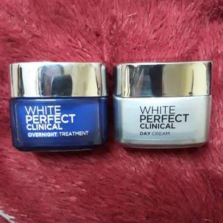 LOREAL White Perfect Clinical Day Cream And Night Cream