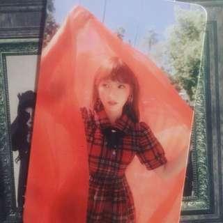 Red Velvet Wendy小卡