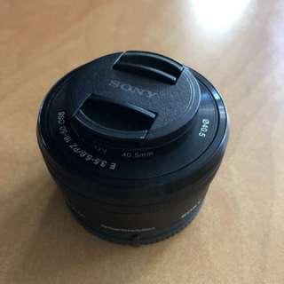 Sony kit lens 16-50 E mount oss