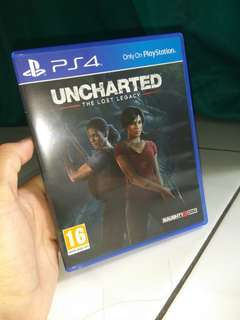 Jual BD Ps4 Uncharted the lost legacy