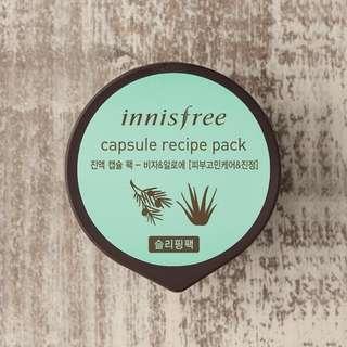 Innisfree Capsule Recipe Pack (Bija & Aloe)