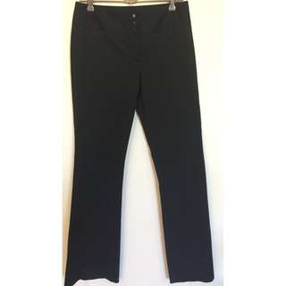 NWOT Size 8 Bless'Ed Are The Meek Black work pants