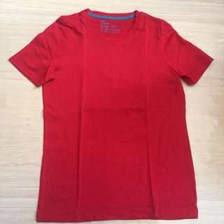 GIORDANO RED TEE