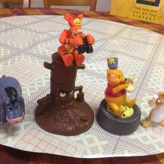 McDonald 2001 'Winnie the Pooh'公仔(一套6隻,不散賣