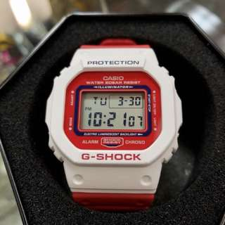 Casio G-Shock DW-5600TB-4A DW-5600 dw-5600tb-4A Red white 紅白5600