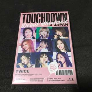 [PRICE REDUCED]Touchdown in japan showcase onces edition Blu-ray