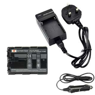 NP-FM500H Rechargeable Battery with Charger
