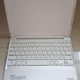 iPad air 2 保護殼+ 藍牙鍵盤 (ZAGG)