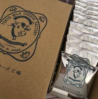 Tokyo milk cheese factory 餅乾