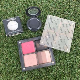 Freedom system pallete and eyeshadow