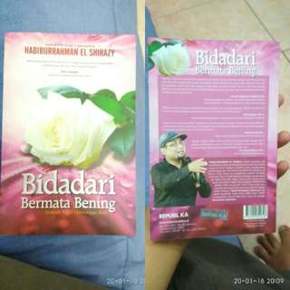 Novel Bidadari Bermata Bening