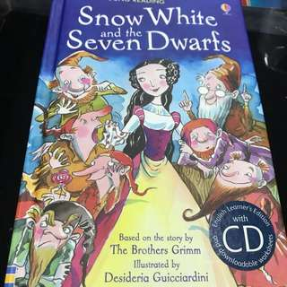 Snow White and the seven dwarfs with CD