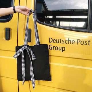 Ribbon bag 帆布袋