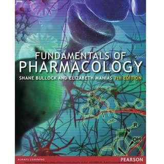 Fundamentals of Pharmacology - Bullock, Shane