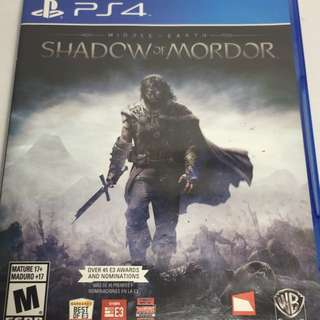 PS4 game - Shadow of Mordor (R All)