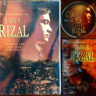 JOSE RIZAL THE MOVIE Coffee Table Book & DVD Collector's item