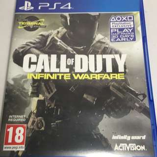 PS4 game - Call of Duty Infinite Warfare (R2)