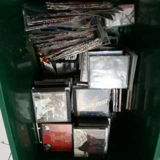 Cd music dan dvd