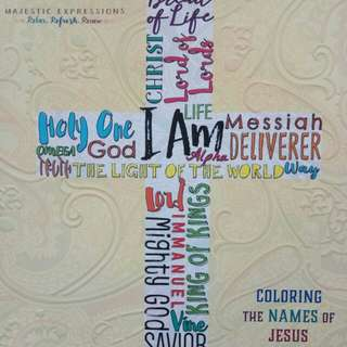 Coloring The Names of Jesus