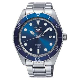 精工 SEIKO 5 AUTOMATIC BLUE DIAL SRPB89K1 SRPB89-K1