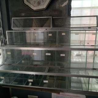 Estante o Glass display o candy grocery organizer